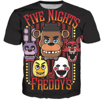 Five Nights At Freddy's - Black