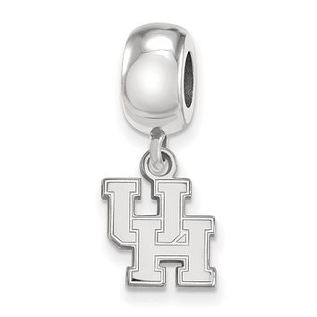 NCAA Sterling Silver University of Houston XS Dangle Bead Charm