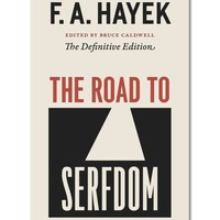 F.A. Hayek The Road to Serfdom Paperback Book
