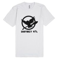 White T-Shirt | Fun Harry Potter Hunger Games Shirts