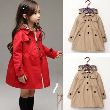 de96cbfcd0da Best Girls Trench Coat Products on Wanelo