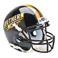 Southern Mississippi Eagles NCAA Authentic Mini 1-4 Size Helmet