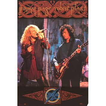 Led Zeppelin Page and Plant 1994 Tour Poster 24x36