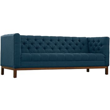 Panache Upholstered Fabric Sofa