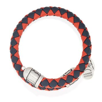 Detroit Tigers Braided Leather Wrap