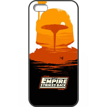 Star Wars - Empire Strikes Back Poster Case for iPhone 5 /5s /SE