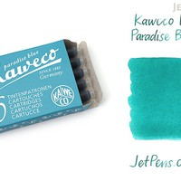 JetPens.com - Kaweco Paradise Blue Ink - 6 Cartridges