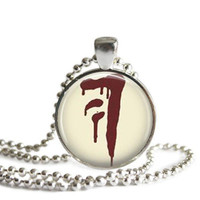 Supernatural Mark of Cain Necklace