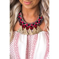 Danae Statement Necklace (Multi)