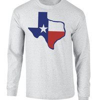 Texas Flag Long Sleeve Tee