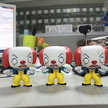 Funko POP Horror Movies: Stephen King's IT - PENNYWISE THE CLOWN Vinyl Figure Decorative Model Toy Cheap price No box