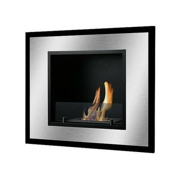 "Ignis Belezza Mini - 32"" Built-in/Wall Mounted Ethanol Fireplace (WMF-034)"