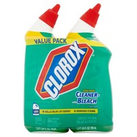 Clorox Fresh Scent Toilet Bowl Cleaner with Bleach Value Pack 2 x 24fl oz - Walmart.com