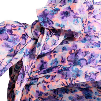 H&M Patterned Scarf $6.99
