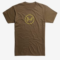 Twenty One Pilots Yellow Double Lines Logo T-Shirt Hot Topic Exclusive