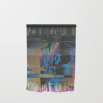 Bismuth Crystal Wall Hanging by duckyb
