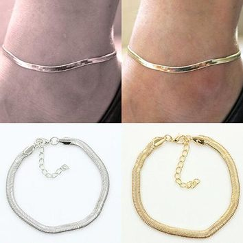 Women's Sexy Fish Scales Anklet Chain Beach Sandal Ankle Bracelet