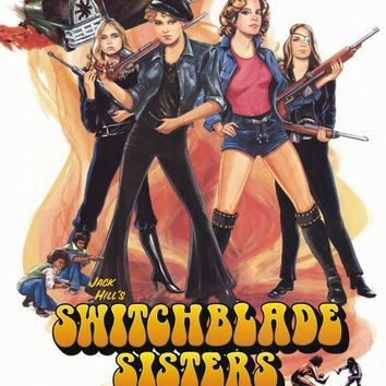 The Switchblade Sisters 11x17 Movie Poster (1996)