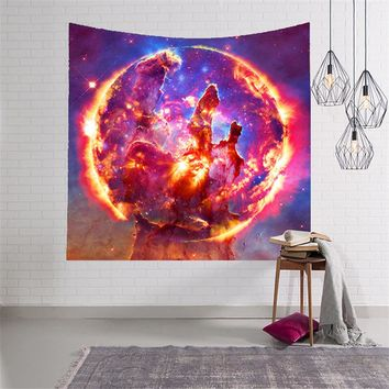 Galaxy Tapestry Stars in the Universe Decorative Wall Tapestry 3D Printed Room Dorm Tapestry Beach Towel Throw Picnic Blanket