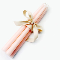 Pastel Taper Candles