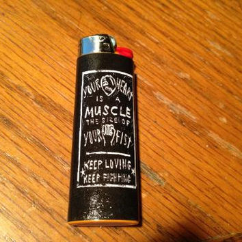 Your Heart Is A Muscle (Ramshackle Glory) Lighter
