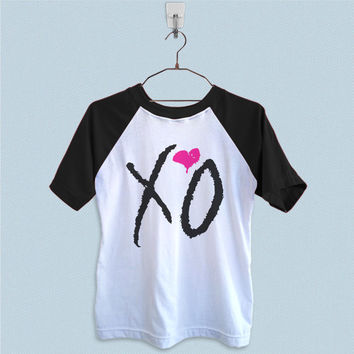 Raglan T-Shirt - XO Drake Beyonce The Weekend Fresh Lil Wayne