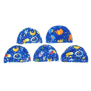 Swimming Accessories Cute Cartoon Child Swimming Cap Animal Printing Children's Cover Hat Sportswear