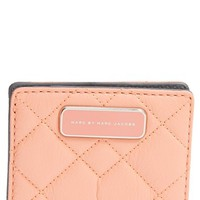 Women's MARC BY MARC JACOBS 'Crosby - Emi' Quilted Leather Wallet