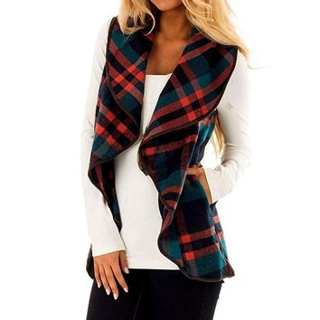 Lapel Open Front Women Cardigans