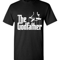 Hilarious The Godfather T-shirt! This funny The Godfather t-shirt is available in ladies, unisex, various sizes and colors!!