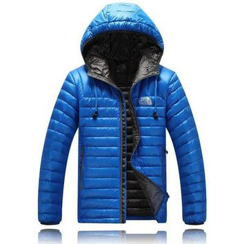 DCCKBWS The North Face man down hooded jacket