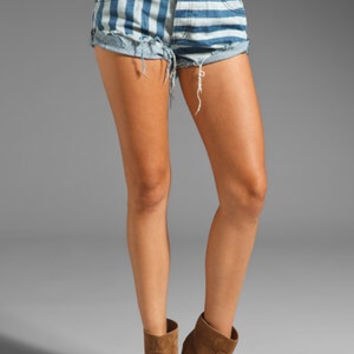 One Teaspoon Stripe Bandits Shorts