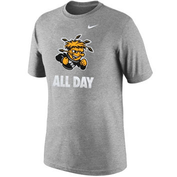 Wichita State Shockers Nike All Day T-Shirt – Dark Gray
