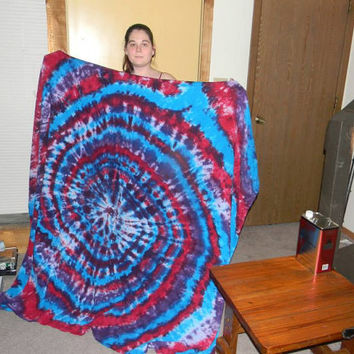 Tie Dye Blanket - Choose Any Colors