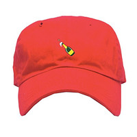Any Memes Pop Bottles Dad Hat In Red