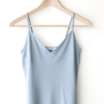 V-neck Cami Top - Dusty Blue
