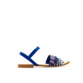 FLAT SANDALS WITH COMBINATION STRAPS - Girl - New this week - ZARA United States