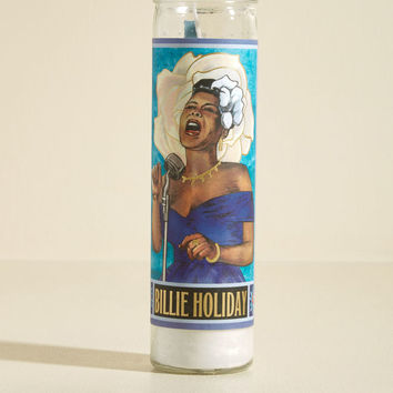 Illuminated Inspiration Candle in Billie Holiday