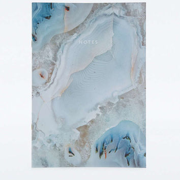 Blue Agate Notebook - Urban Outfitters