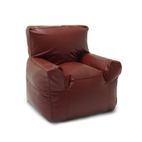 Big Joe Oxblood Vegan Suite Lounger