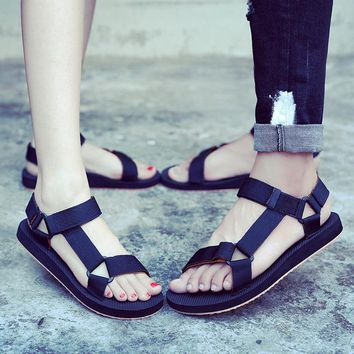 A Rome Style Qing Xia Female Companion Novel Fashion Sexy Sandals New Breathable comfortable women's shoes