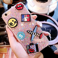 Handmade Twinkle Case Cover for iPhone 7 7 Plus & iPhone 5s se + iPhone 6 6s Plus + Gift Box-56