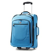 American Tourister Luggage Splash 21 Upright Suitcase, Turquoise, 21 Inch