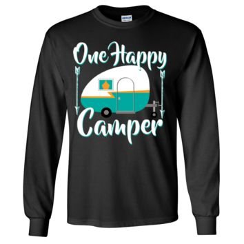 Happy Camper Long Sleeve Shirt