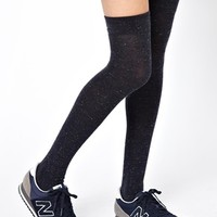 Gipsy Over The Knee Sock in Speckled Navy