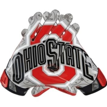 Nike Adult Ohio State Buckeyes Vapor Jet 3.0 Receiver Gloves