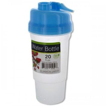 20 Oz. Sports Water Bottle With Fruit Infuser