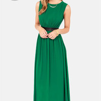 LULUS Exclusive Height of My Life Green Maxi Dress