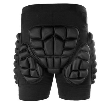 2018 Winter Sports Skiing Snowboarding Shorts Protective Hip Bottom Padded for Roller Ski Snow Skate Snowboard Protection Pad