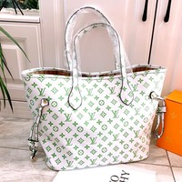 LV New Products Letters Logo Women's Shopping Bags Handbag Crossbody Bag